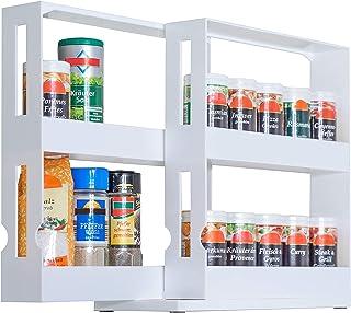 UPP Especiero Extensible I Estante Universal I Almacenamiento I Sistema de Orden I Armario de Cocina I estantería para med...