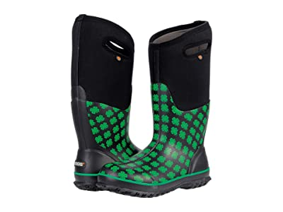 Bogs Classic Tall 4-H (Black Multi) Women