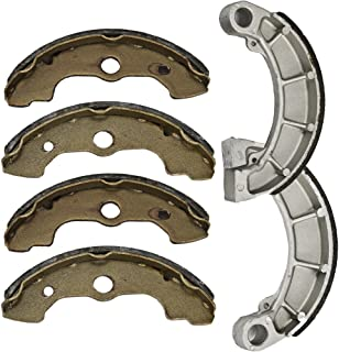 Foreverun Motor Front and Rear Brake Shoes compatible with Honda TRX 350 Fourtrax Rancher 2000-2006