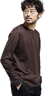 [ナノユニバース] カットソー 《汗染み防止》Anti Soaked ヘビー クルーネック 長袖 メンズ