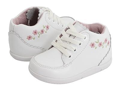 Stride Rite SRT Emilia (Infant/Toddler) (White) Girls Shoes