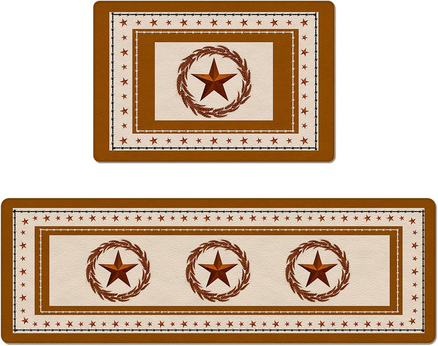OUR WINGS Kitchen unisex Rug PVC Standing Pieces Anti-Fatigue 2 Louisville-Jefferson County Mall Mat Kit