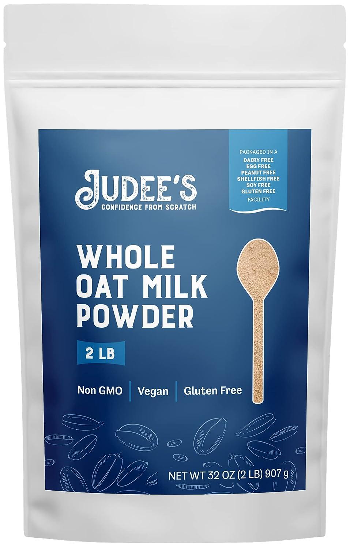Judee's Oat Milk Powder 2lb Soy-Free New product! New type Glu Non-GMO Vegan Max 83% OFF -