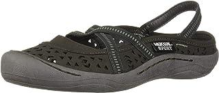 MUK LUKS Women's Erin Sport Shoe-Grey Sandal