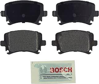 Bosch BE1108 Blue Disc Brake Pad Set for Select Audi A3, A4, A6, S3, TT; Volkswagen Eos, Golf, GTI, Jetta, Passat, R32, Rabbit, Tiguan - REAR