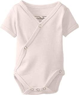 L'ovedbaby Unisex-Baby Newborn Organic Short-Sleeve Kimono Bodysuit