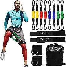 Speed Leg Resistance Bands, Atletiek Snelheid en behendigheid Training Resistance Bands Stretching Strap voor alle sporte...