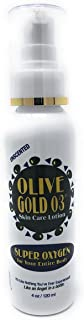 Olive Gold O3 Skin Care Lotion - Ozonated Olive Oil Super Oxygen (4oz)