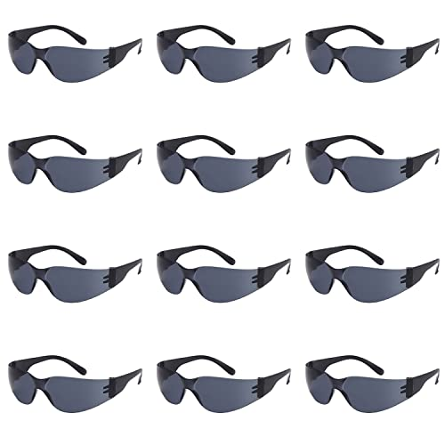 b6c6c21fb754e TRUST OPTICS 12 Pack Impact and Ballistic Resistant Safety Protective UV400  Sunglasses with Shatterproof Lenses