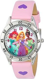 ساعة ديزني كيدز PN1171 بسوار زهري