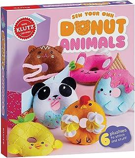 Klutz 856615 Sew Your Own Donut Animals, Brown