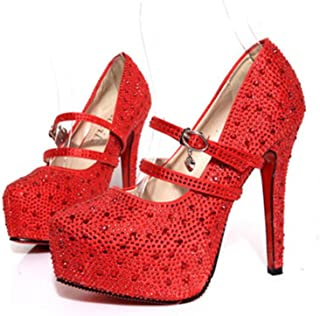 Best quiz silver prom shoes Reviews