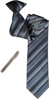 Simpowe Men's Clip On Tie 2.75 Inches