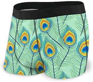 Men's Boxer Briefs Hip Underwear With Comfort Waistband Monochrome Seamless