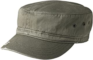 Joe's USA Military Style Distressed Washed Cotton Cadet Army Caps