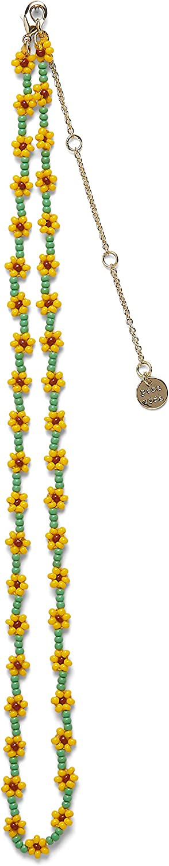 Pura Vida Daisy or Sunflower Seed Bead Choker Necklace - 14