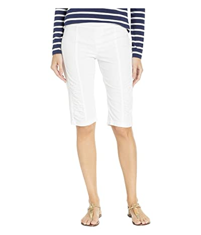 XCVI Wearables Tatem Bermuda Shorts (White) Women