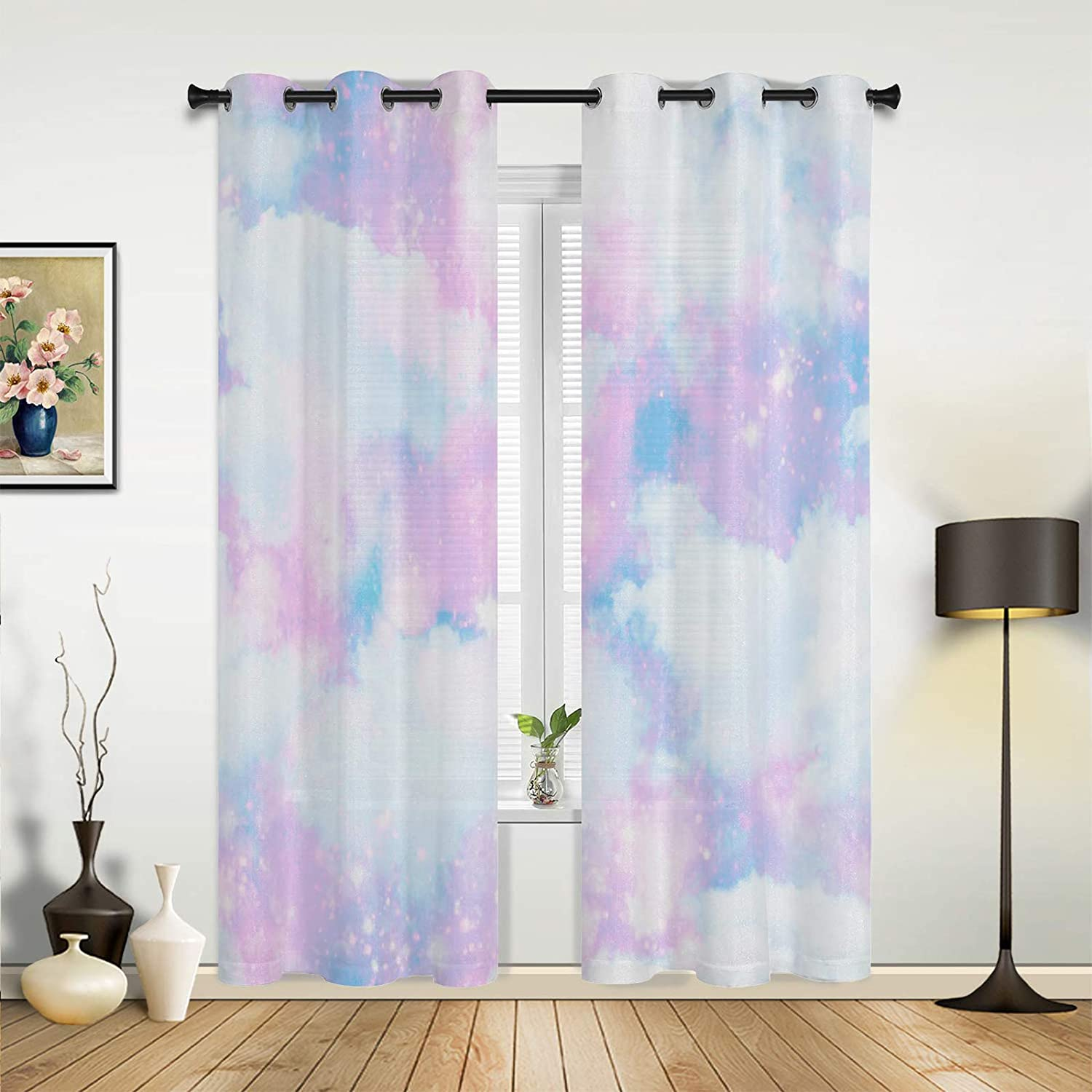 Window Sheer Curtains for Bedroom Room Ranking TOP17 67% OFF of fixed price Sky Living Dreamy Mysteri