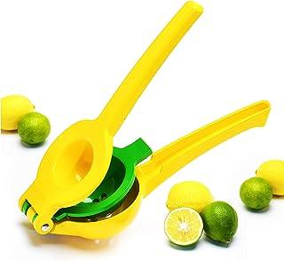 Zulay Premium Quality Metal Lemon Lime Squeezer - Manual Citrus Press Juicer