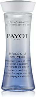 Payot EffaceCils Douceur for Women - 4.2 oz Cleanser