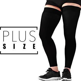 3XL Mojo Compression Stockings Medical Thigh Leg Sleeve Firm 20-30mmHg Black