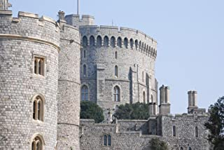 Gifts Delight LAMINATED 35x24 inches Poster: Windsor Castle Royalty Historical Landmark Ancient Building United Kingdom