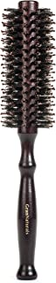 Boar Bristle Round Styling Hair Brush - 1.75 Inch Diameter - Blow Dryer & Curling Roll Hairbrush with Natural Wooden Handle for Women and Men - Used While Blow Drying to Style, Curl, and Dry Hair