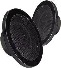 MAGNADYNE LS515B 5-1/4 INCH 3-Way Speakers Sold as a Pair (Black Color)