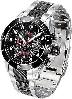 インガーソル 腕時計 自動巻き フルカレンダー Bisonシリーズ IN1408BKMB [並行輸入品]