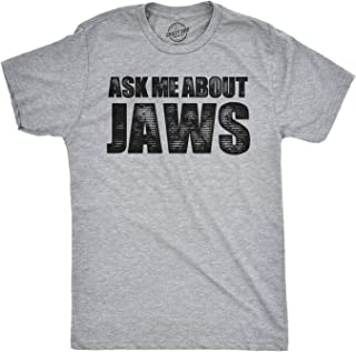 Toddler Ask Me About Jaws Tshirt Funny Shark Movie Flip Up Tee for Kids