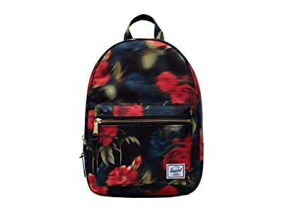Herschel Supply Co. Grove Small (Blurry Roses) Backpack Bags