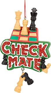 Midwest-CBK Checkmate Chess Piece Game Ornament