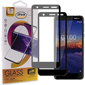 Guran [2 Paquete Protector de Pantalla para Nokia 3.1 (2018 ...