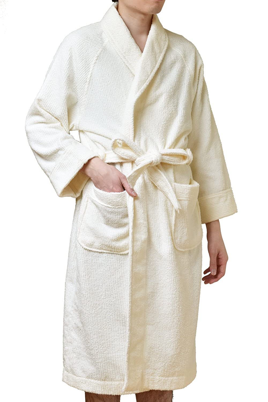 [TRANPARAN] 選べるお名前刺繍 今治タオル 認定 バスローブ ストライプ 軽量 速乾 日本製 名入れ