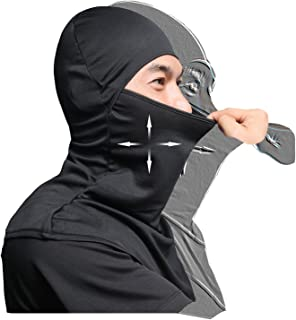 AIWOLU Balaclava Face Mask for Sun Protection Breathable Motorcycle Long Neck Covers in Summer for Men Hiking Fishing Trekking Walking