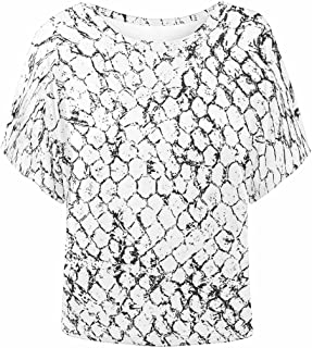 Women T-Shirts Batwing Loose Fit Blouse Top Shirts