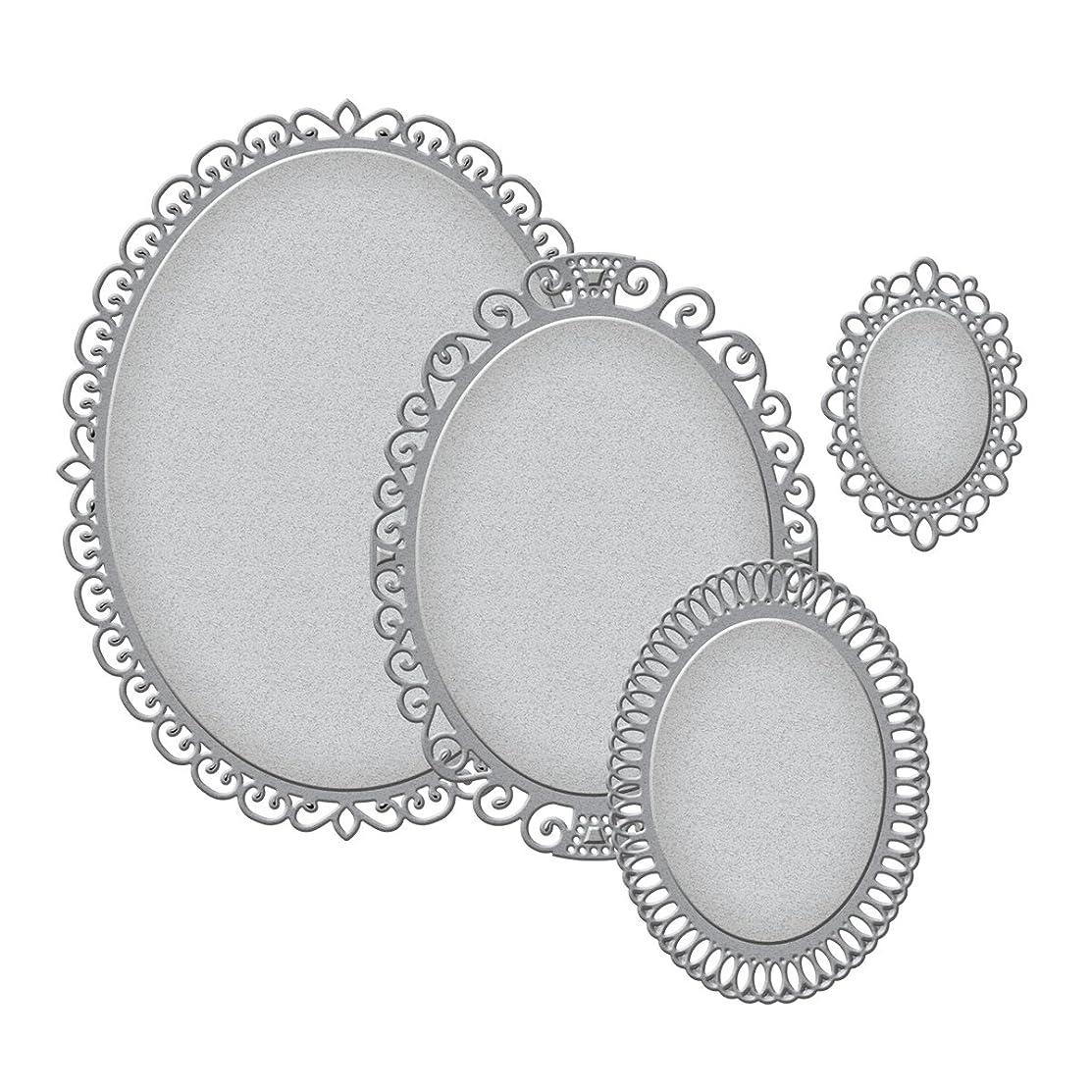 Spellbinders S4-425 Nestabilities Elegant Ovals Etched/Wafer Thin Dies