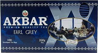 Akbar Pure Ceylon Tea Earl Grey 100 Enveloped Teabags