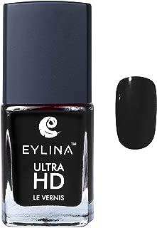 EYLINA Ultra Hd Nail Polish, Jet Black, 9ml