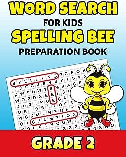 Word Search For Kids Spelling Bee Preparation Book Grade 2: 2nd Grade Spelling Workbook Fun Puzzle Book Second Grade Teacher Student Class Homeschool