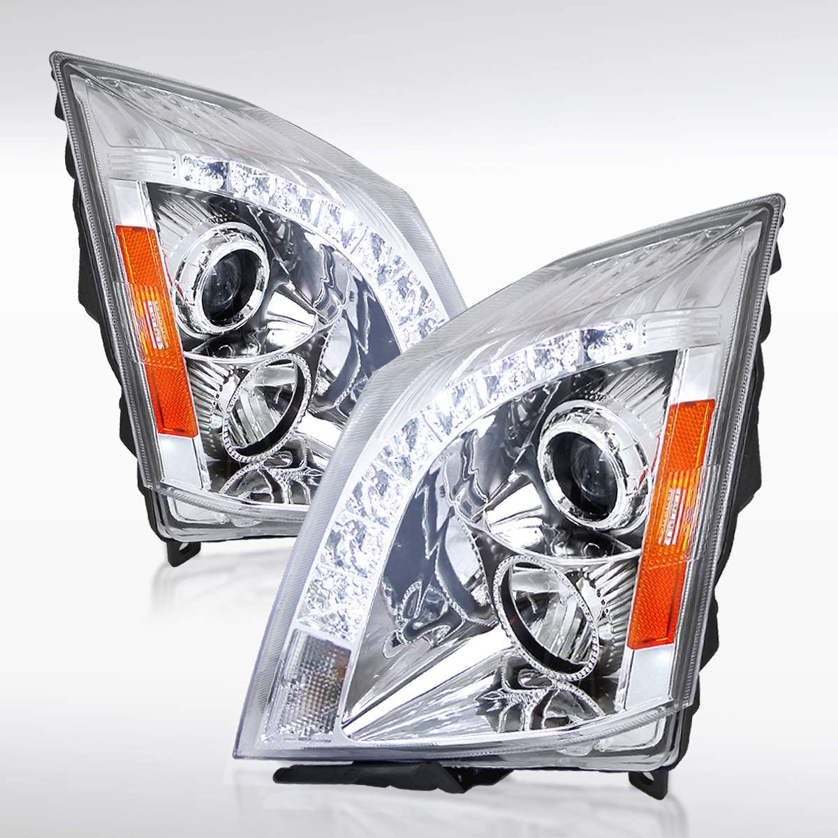 Autozensation for 2008-2014 Cadillac CTS 8 1 year warranty Project Fees free!! LED Strip SMD