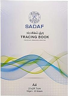 SADAF TRACING BOOK A4 55GSM 20SHTS SDF-4557