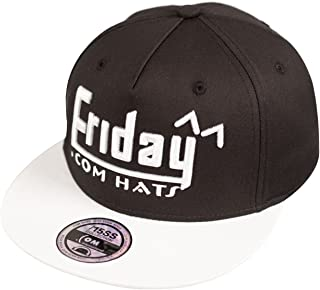 SIGGI Mens Women Summer Baseball Flat Bill Snapback Cap Hip Hop Week Hat