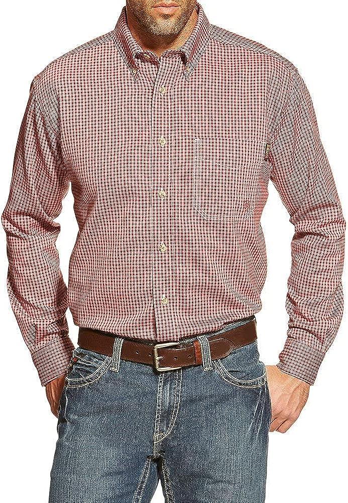 Ariat FR Bell Button Work Shirt - Men's Classic Long Sleeve Button Down Shirt