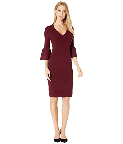 Trina Turk Blues Sweater Dress (Brandy Wine) Women
