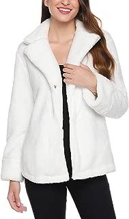 iClosam Women's Fuzzy Jacket Thick Coat Winter Fleece Fluffy Jackets
