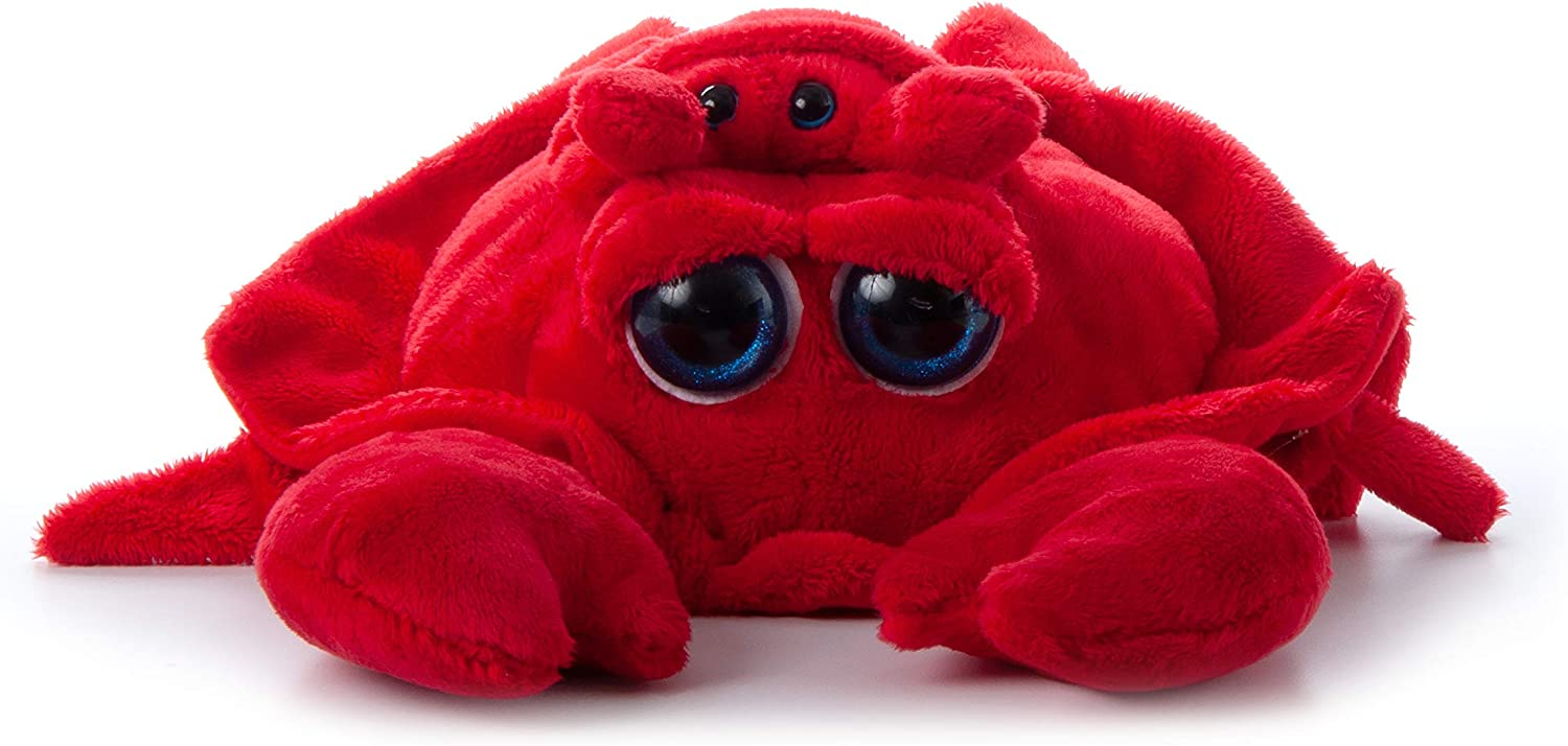 The Petting Zoo Mom and Baby Crab Stuffed Animal, Gifts for Kids, Pocketz Ocean Animals, Crab Plush Toy 14 inches