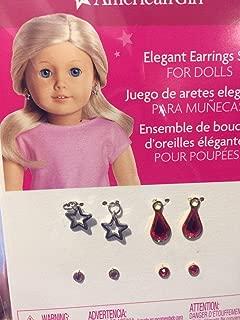 American Girl Elegant Earrings Set for 18