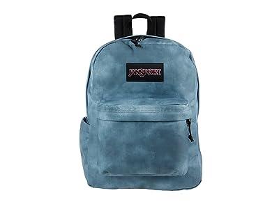 JanSport Superbreak(r) Plus FX (Moon Haze Cali Wash) Backpack Bags