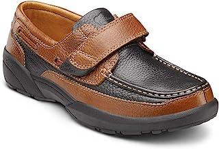 Dr. Comfort Mike Men's Therapeutic Diabetic Extra Depth Shoe: Chestnut/Black